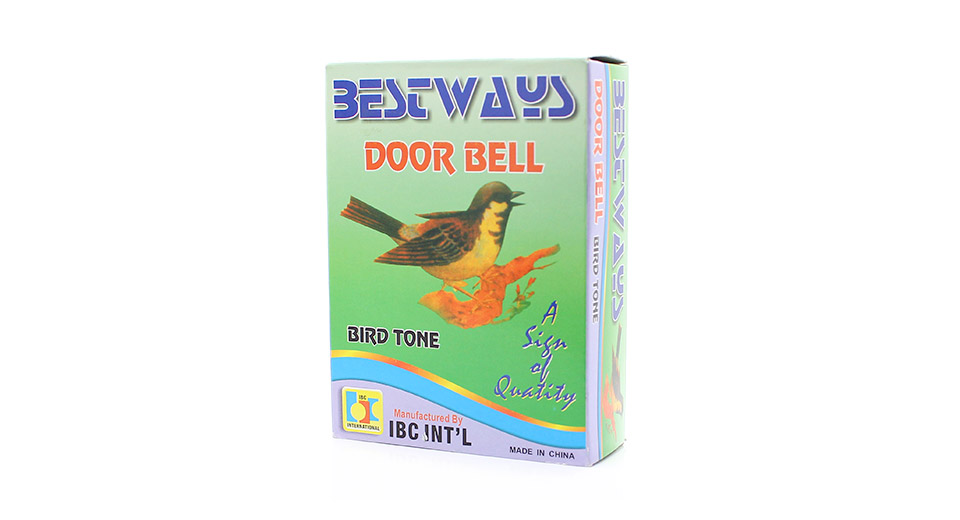 Wired Cuckoo Bird Tone 80dB Doorbell
