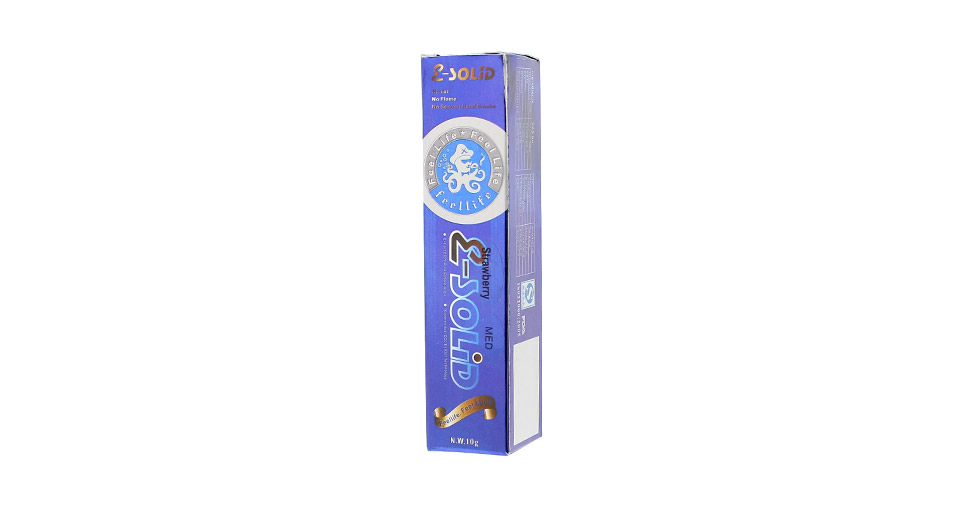 E-Solid Gel for Electronic Cigarette w/ Nicotine (10g)