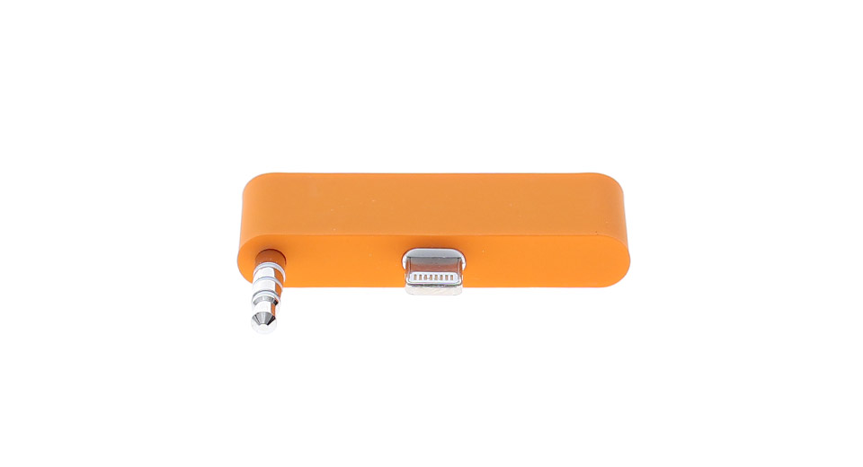 8-pin to 30-Pin Data/Charger/Audio Adapter for iPhone 5