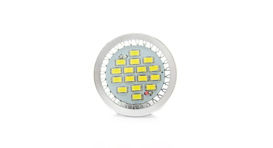 E14 16-LED 600-Lumen 6000-6500K White Light Bulb with L