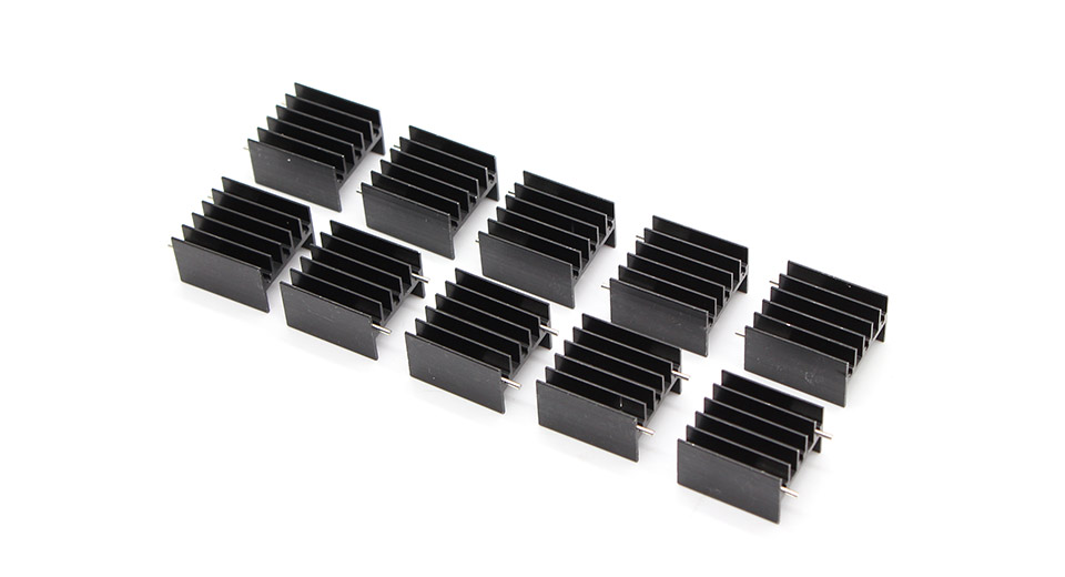 Product Image: 252316mm-aluminum-heatsink-10-pack