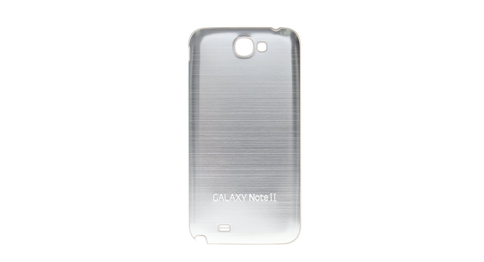 Brushed Metal Back Cover Case for Samsung Galaxy Note I