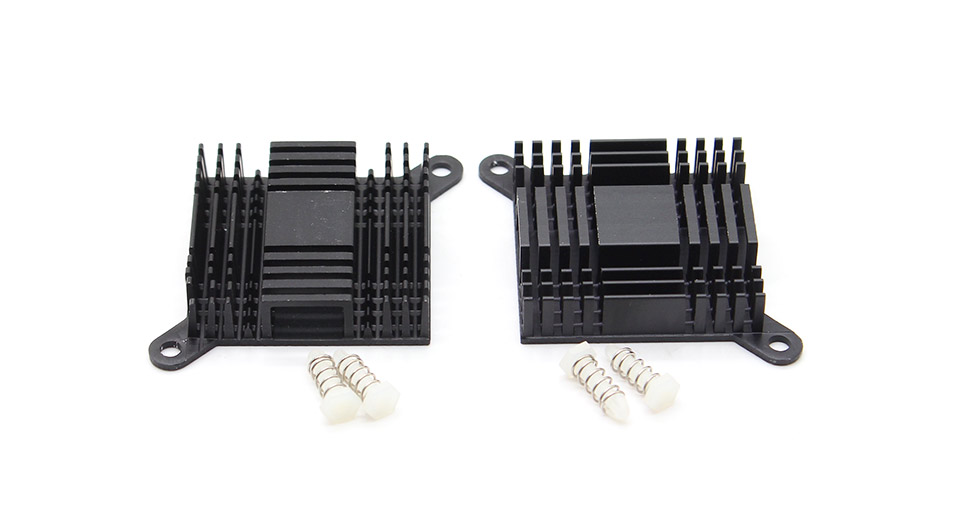 Product Image: 383810mm-aluminum-heatsink-with-screws-2-pack