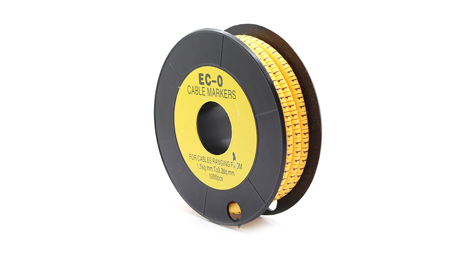 EC-O Type Yellow Tubes Concave Conversed Shaped Cable M