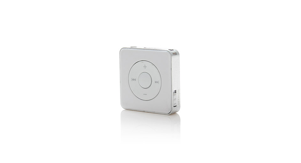 "1.7"" Sugar Cube Shaped Mini Cute MP3 Music Player with"