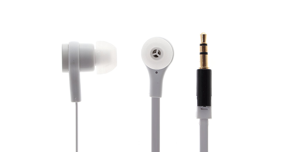 SMZ610 3.5mm Plug In-Ear Style Stereo Earphone white /
