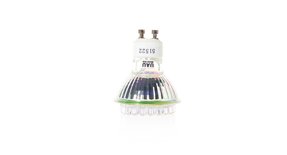 GU10 2.2W 38*F5 58-Lumen 6500-7000K Neutral White LED L