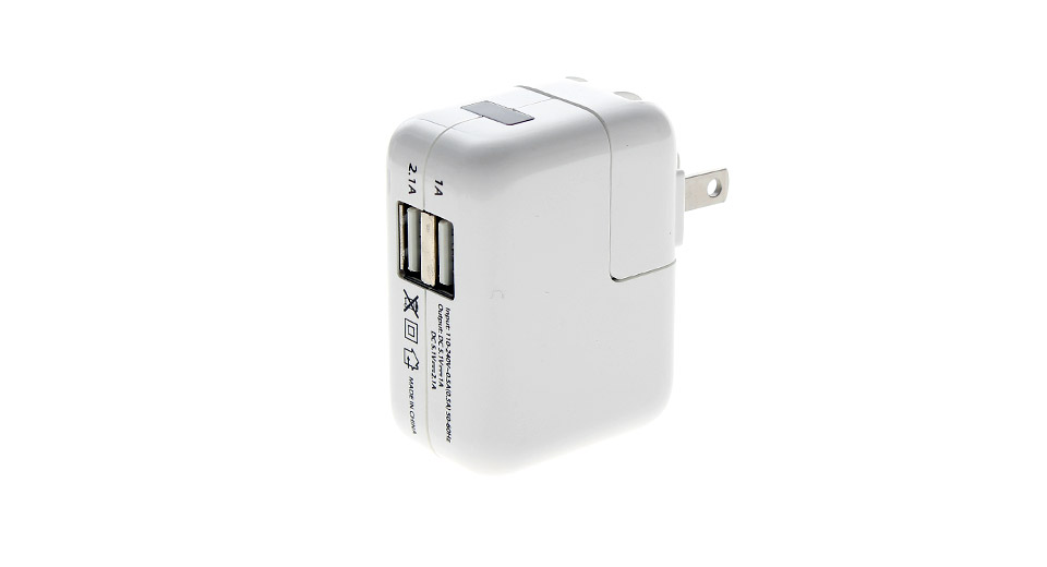 Product Image: universal-21a1a-dual-usb-ac-power-adapter-wall-cha