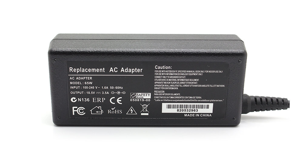 65W Replacement Power Supply AC Adapter 7.3mm*5.0mm con