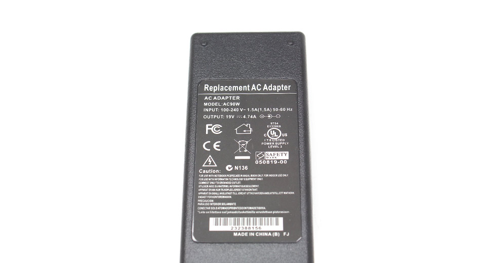 90W Replacement Power Supply AC Adapter 7.4mm*5.0mm con