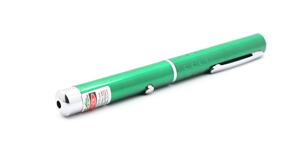 Product Image: 5mw-532nm-single-dot-light-green-laser-pointer-w