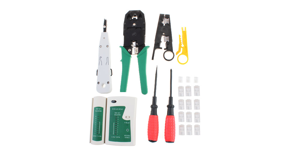 WL-11PC Multifunctional 10-in-1 Network Tool Kit
