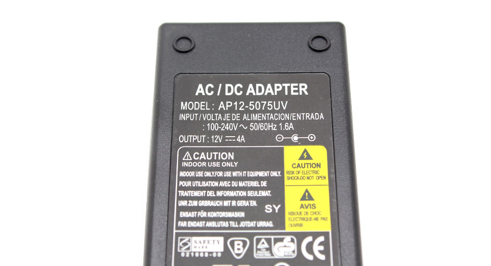 48W Replacement Power Supply AC Adapter w/ US Plug Cord