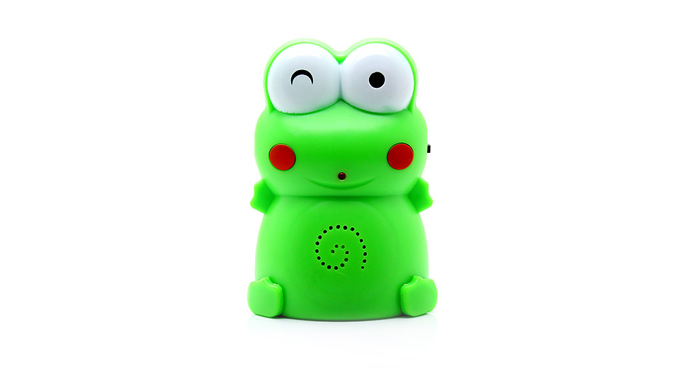 Frog Style Intelligent Motion Activated Greeting / Warn