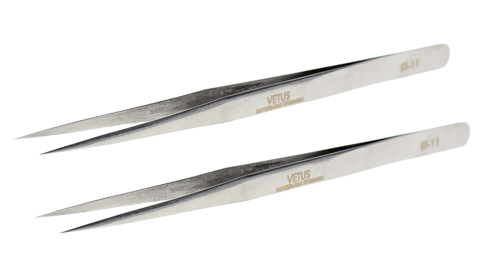 Product Image: vetus-esd-15-stainless-steel-curved-tweezers-125mm