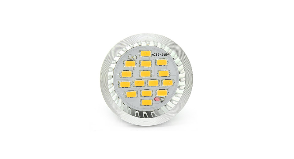 E14 6W 15-LED 600-Lumen 2800-3500K Warm White Light Bul