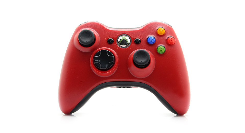 XBOX 360 Wireless Game Controller red / 2*AA