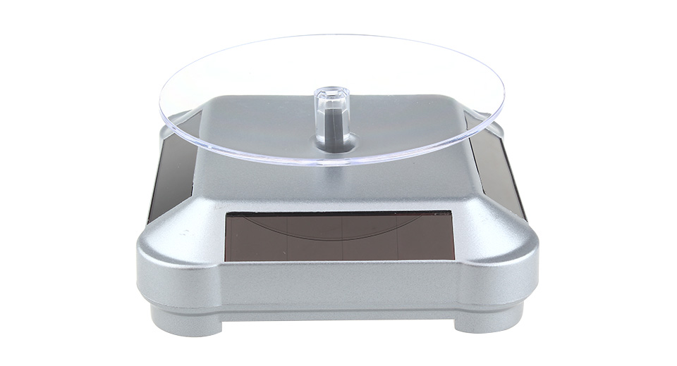 Product Image: solar-power-360-degree-rotation-tray-showcase