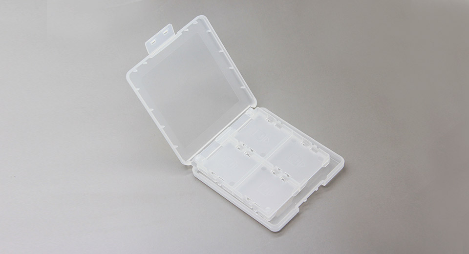 Nintendo 3DS 8-Cartridge Protective Storage Case transl