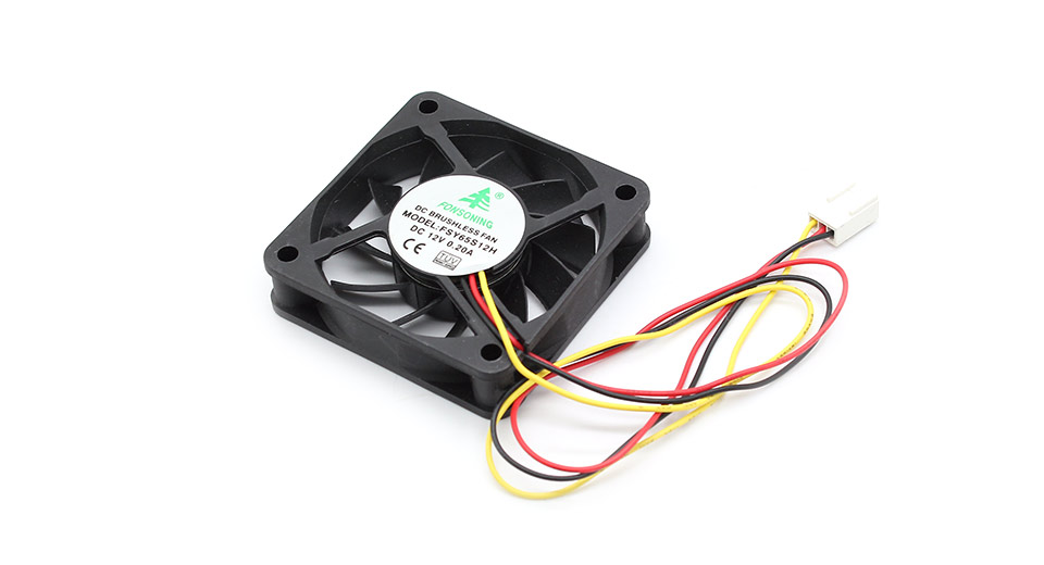 3-Pin Computer Case Cooling Fan 0.2A / DC12V