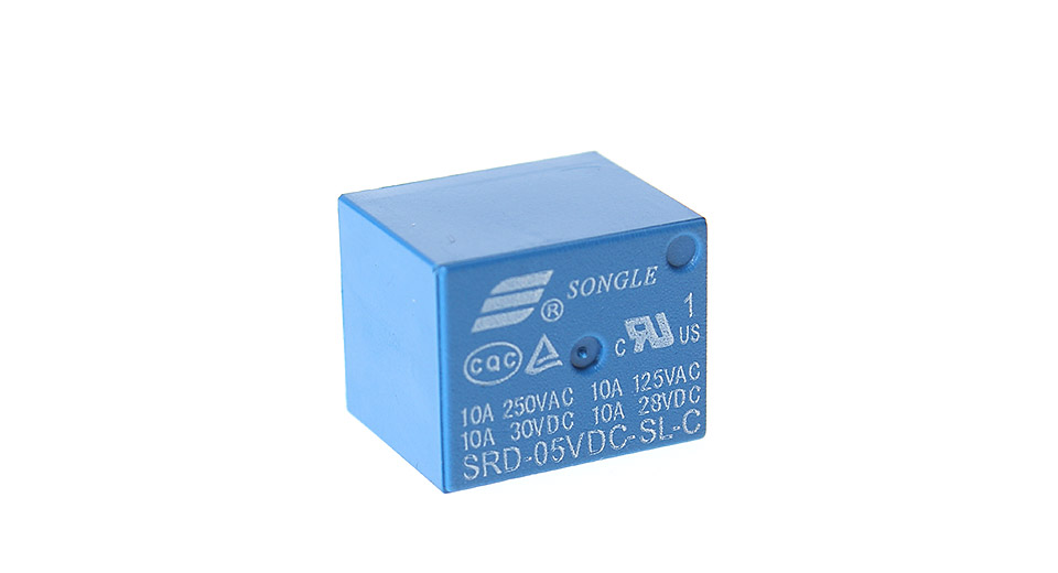Product Image: songle-4100-05v-srs-05vdc-sl-6-pin-power-relay
