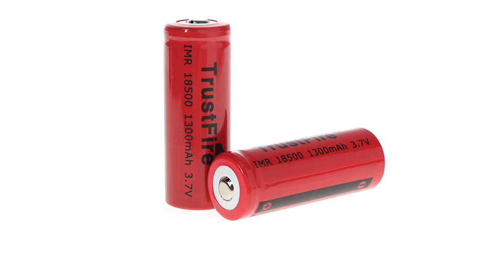 Product Image: trustfire-imr-18500-3-7v-1300mah-rechargeable-li