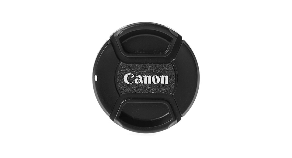LVSHI 55mm Lens Cover for Canon Digital Cameras w/ stra