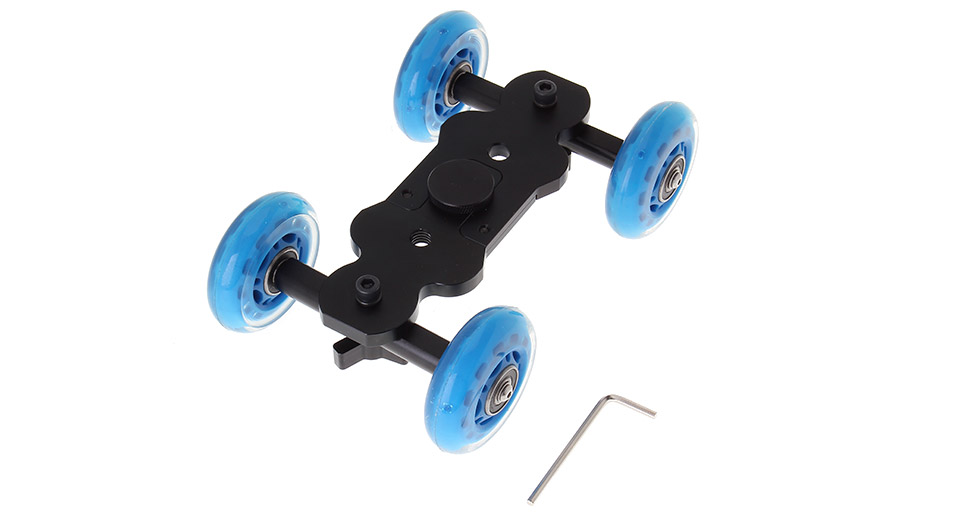 Universal Floor Table Video Sliding Track Dolly Car for