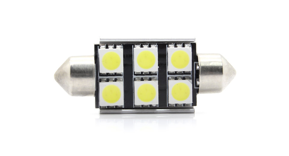 5050 1.2W 108-Lumen 5500-6500K 6-Led Normal White Light