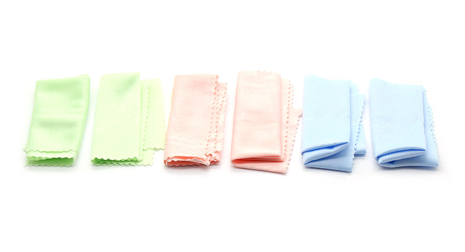 Microfiber Screen and Glass Cleaning Cloths (Random Col