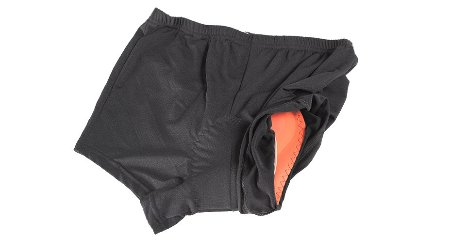 NUCKILY NK310 Outdoor Sports Men's Cycling Shorts black