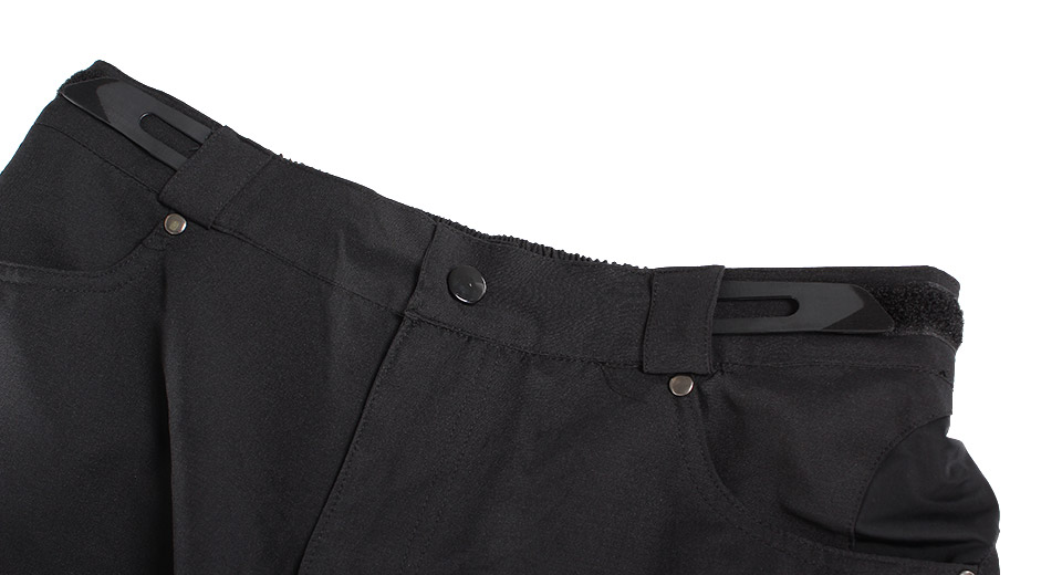 NUCKILY NS357 Outdoor Sports Men's Cycling Shorts black