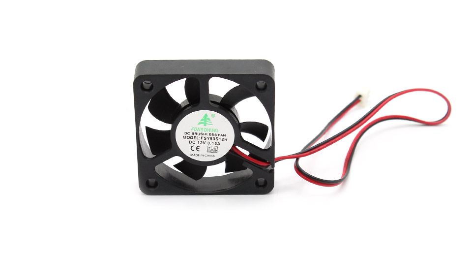 2-Pin Computer Case Cooling Fan 0.15A / DC 12V