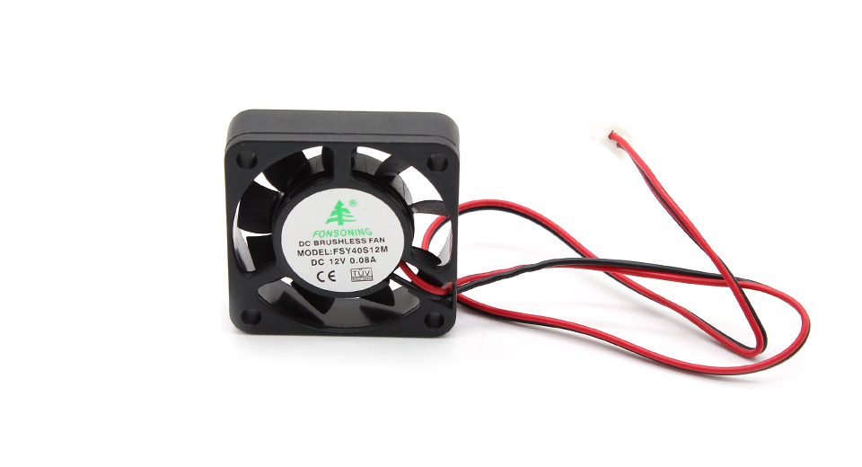 2-Pin Computer Case Cooling Fan 0.08A / DC 12V