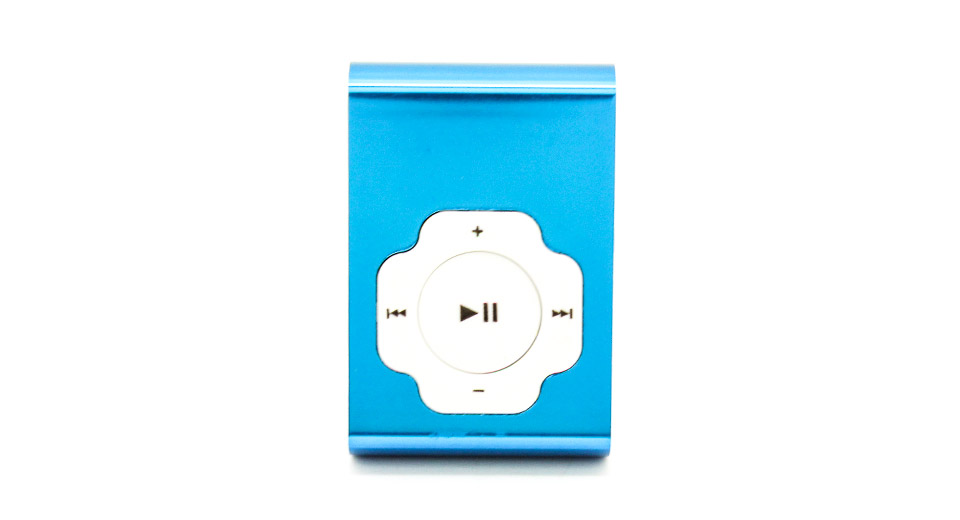 USB Rechargeable Mini MP3 Player w/ microSD Card Slot b