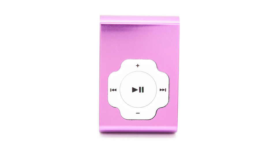 USB Rechargeable Mini MP3 Player w/ microSD Card Slot p
