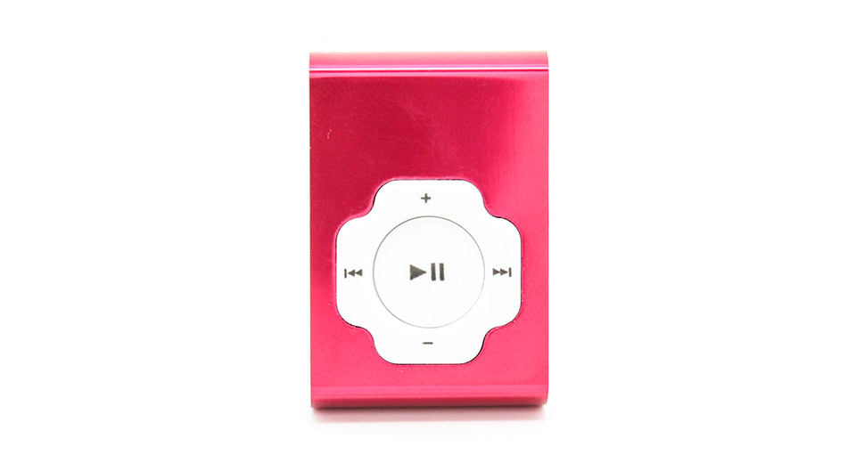 USB Rechargeable Mini MP3 Player w/ microSD Card Slot r
