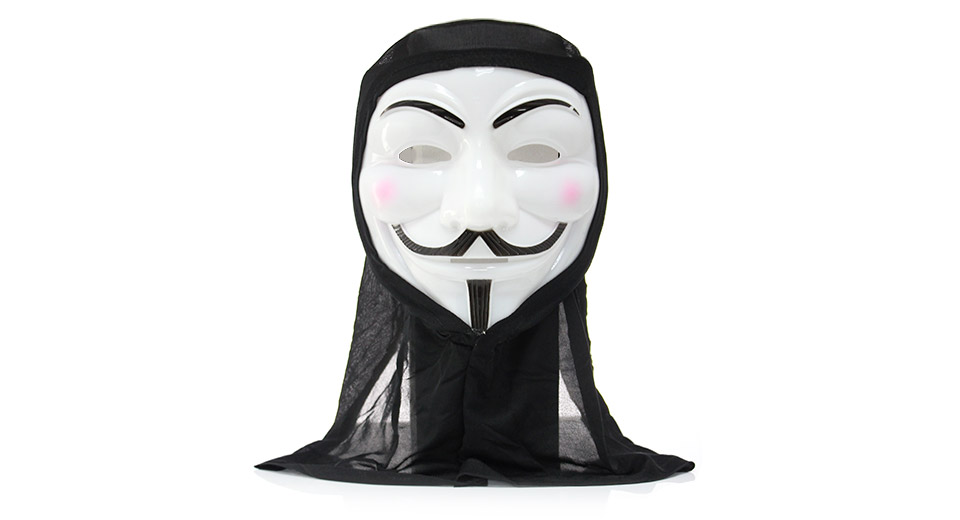 3 21 Free Shipping Full Face V For Vendetta Style Scary