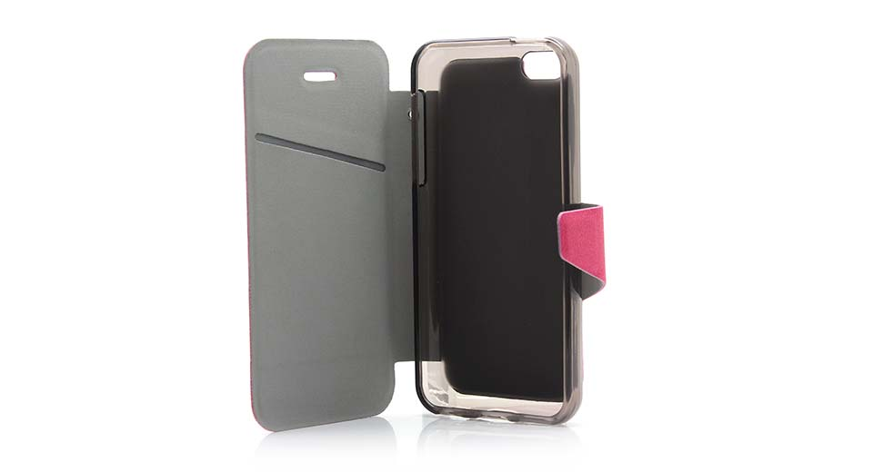 Protective PU + TPU Flip-open Case for iPhone 5c fushci