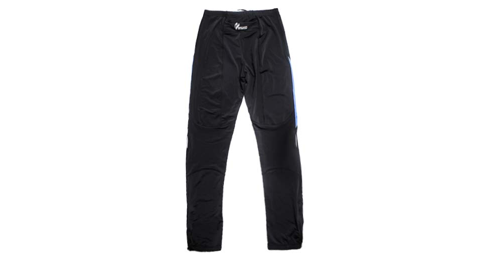 ARSUXEO 9012 Sports Quick-Dry Tight Pants black + blue