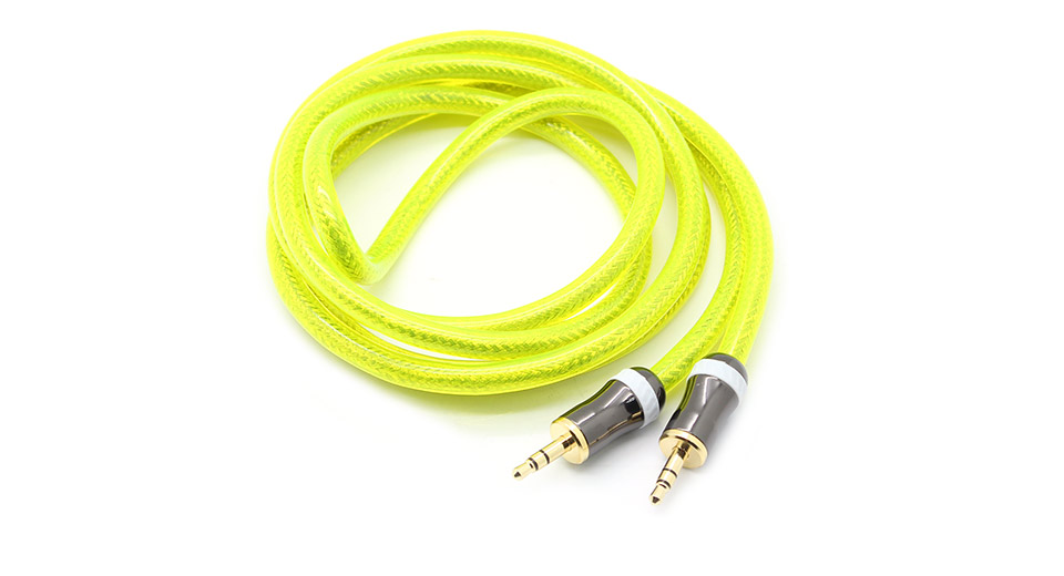 3.5mm to 3.5mm AC Cable green / 1.53m