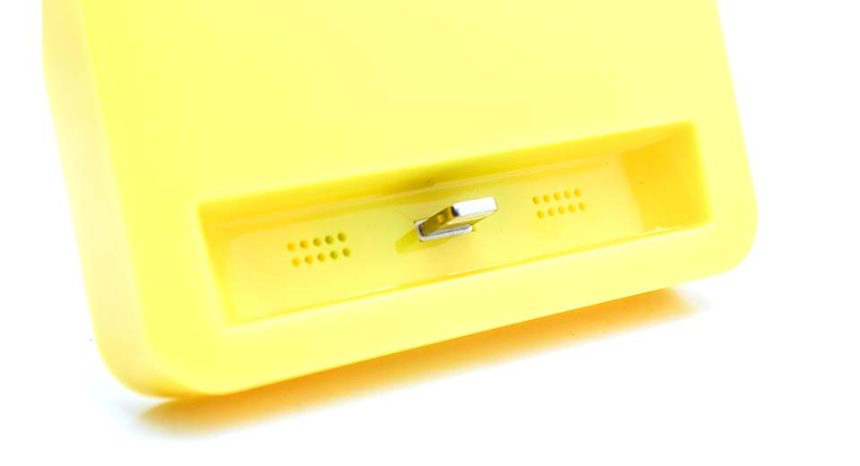 Charging Docking Station for iPhone 5 / 5s / 5c yellow