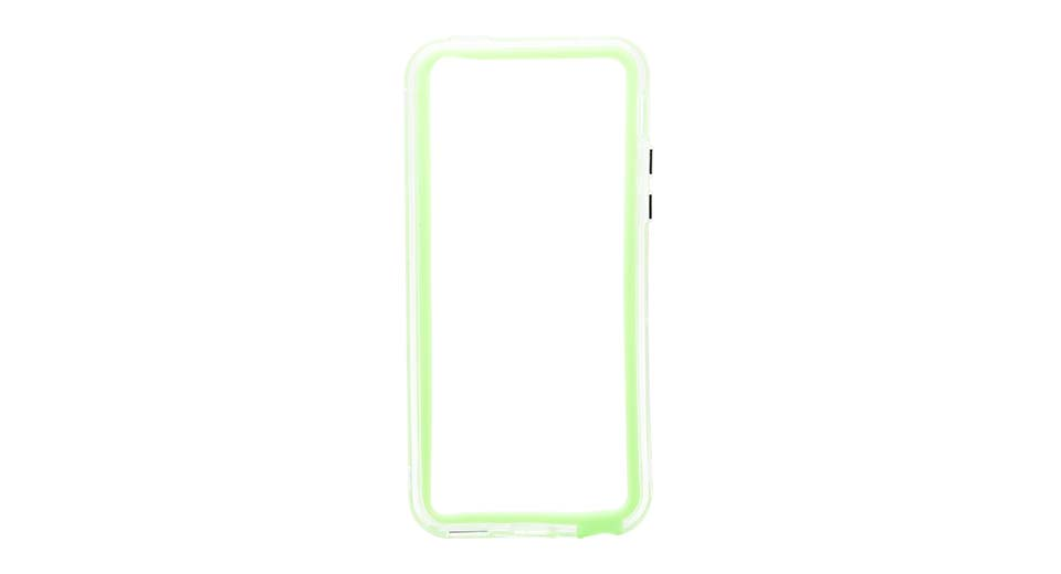 Protective PVC Bumper Frame Case for iPhone 5c green