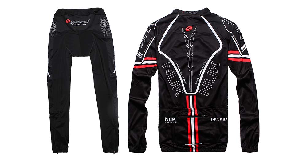 NUCKILY CJ124 Thin Outdoor Sports Cycling Jacket & Pant