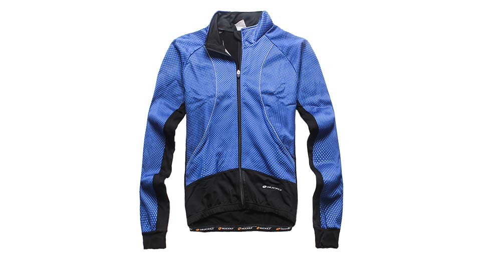 Nuckily NJ525-W Outdoor Sports Cycling Warm Jacket blue
