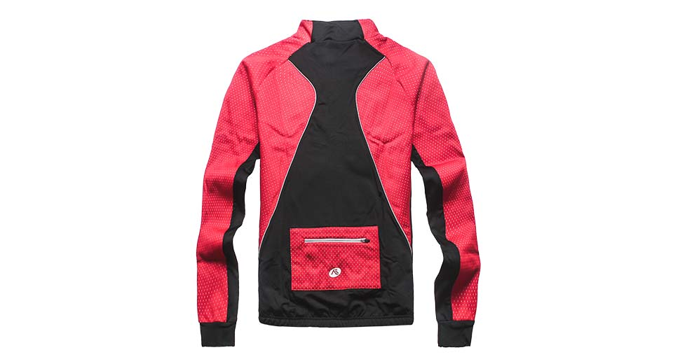 Nuckily NJ525-W Outdoor Sports Cycling Warm Jacket red