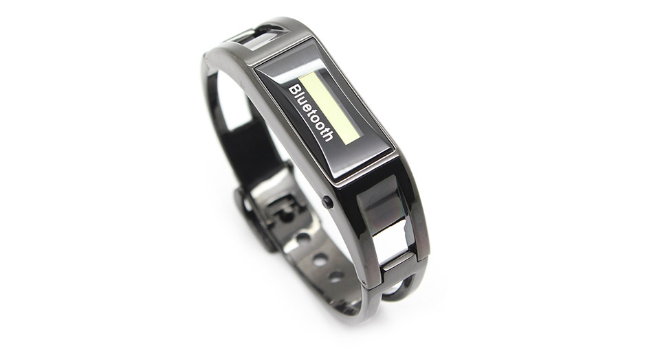 Aluminum Alloy Hands-Free Bluetooth Bracelet Watch