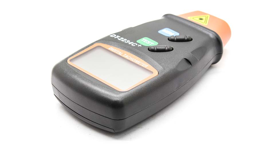 "DT-2234C+ 0.7"" LCD Non-contact Digital Laser Photo Tach"