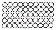 11mm: 50-Pack, Black