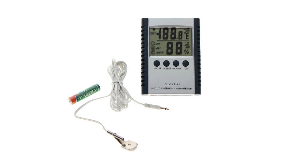 Product Image: 2-5-led-indoor-outdoor-digital-thermo-hygrometer